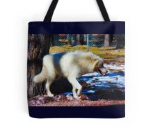 """""""Call of the Wild"""" --title by Jack London Tote Bag"""
