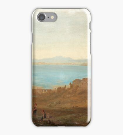 Alfred Walter Williams England  Attributed to Italian landscape with ruins iPhone Case/Skin