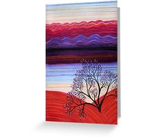 Pastels - Sunset Greeting Card