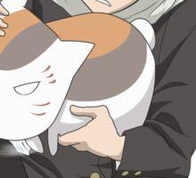 Natsume and Nyanko Sensei  Sticker