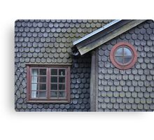 Bucolic Old House Canvas Print