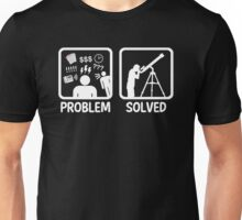 Funny Astronomy Problem Solved Unisex T-Shirt