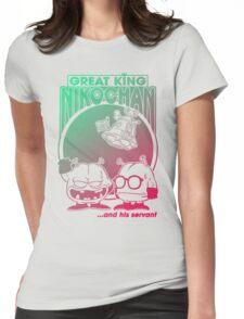 Nikochan Womens Fitted T-Shirt
