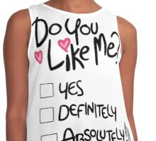 Mabel: do you like me Contrast Tank