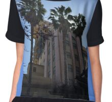 Tower of Terror Chiffon Top