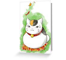 Nyanko Sensei  Greeting Card