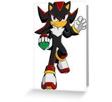 Shadow the Hedgehog Greeting Card