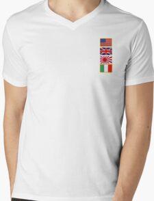 Flag Pack 1  Mens V-Neck T-Shirt