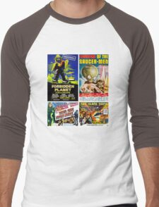 Sci-fi Movie Poster Collection #4 Men's Baseball ¾ T-Shirt