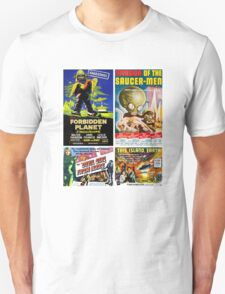 Sci-fi Movie Poster Collection #4 Unisex T-Shirt