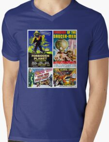 Sci-fi Movie Poster Collection #4 Mens V-Neck T-Shirt
