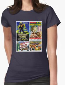 Sci-fi Movie Poster Collection #4 Womens Fitted T-Shirt