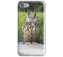OWL WATCH iPhone Case/Skin
