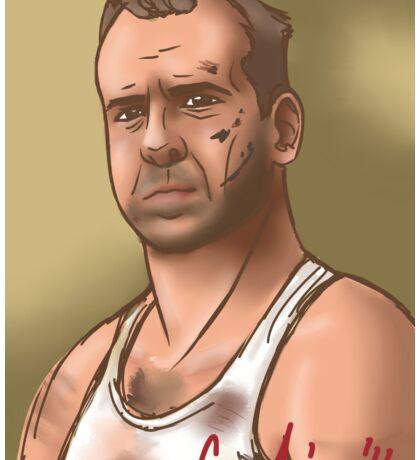 Bruce Willis Sticker