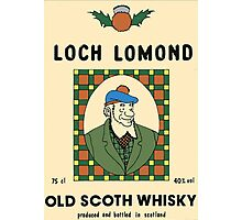 Loch Lomond old Scoth Whisky Photographic Print