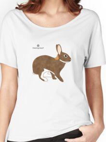 Chestnut Agouti Rabbit Women's Relaxed Fit T-Shirt