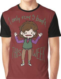 Spencer Reid-Books Graphic T-Shirt