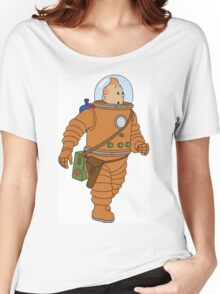 Belgium in Space  Women's Relaxed Fit T-Shirt