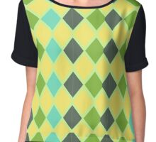 Bright Diamonds Chiffon Top