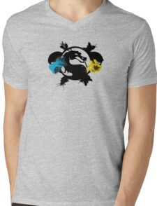 Mortal Kombat Mens V-Neck T-Shirt