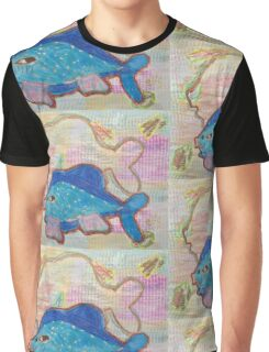 Blue Fish Graphic T-Shirt