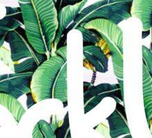 Jack U - Banana Leaf Sticker