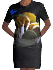 Looking For  Bioluminescence Graphic T-Shirt Dress