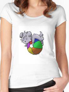 Beach Fun! Women's Fitted Scoop T-Shirt