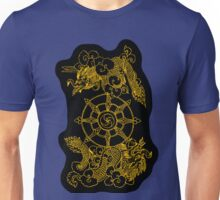 Thunder-Dragons of the Sky - Gold Unisex T-Shirt