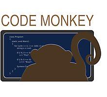 CodeMonkey Photographic Print