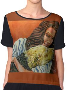 Until I See You Again... Women's Chiffon Top