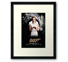 Gillian Anderson as Jane Bond 007 Framed Print