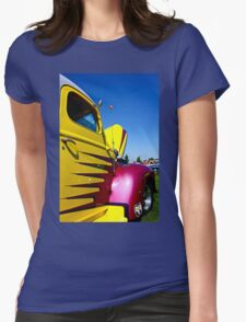 Truck Art Womens Fitted T-Shirt