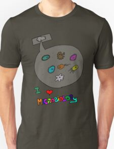 I love microbiology- school style T-Shirt