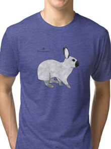 Rabbit Champagne D'Argent Tri-blend T-Shirt