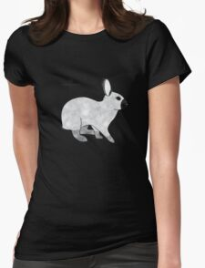 Rabbit Champagne D'Argent Womens Fitted T-Shirt