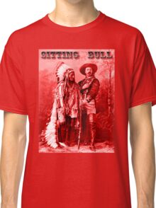 American Heros: Sitting Bull & Buffalo Bill Classic T-Shirt