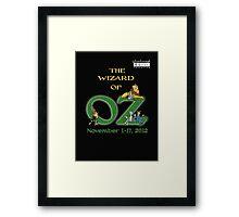 SMT - Wizard of Oz 2012 Official Merchandise Framed Print