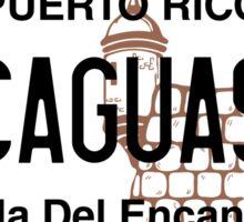 PR License Plate - Caguas Sticker