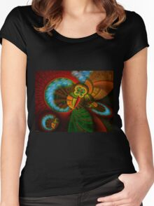Collective Perspective Women's Fitted Scoop T-Shirt
