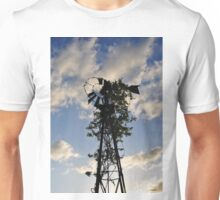 Ivy Covered Windmill Unisex T-Shirt