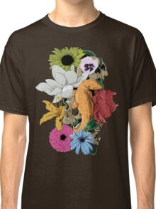 Lizards, Skulls & Flowers Classic T-Shirt