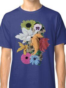 Lizards, Skulls & Flowers Classic T-Shirt