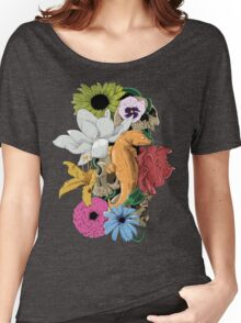 Lizards, Skulls & Flowers Women's Relaxed Fit T-Shirt