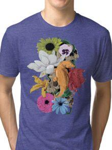 Lizards, Skulls & Flowers Tri-blend T-Shirt