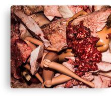 Meat Barbies Canvas Print