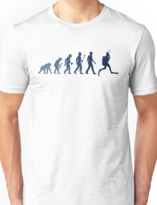 Funny Diving Evolution Shirt Unisex T-Shirt