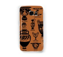 Ancient Greek Pottery Silhouette Samsung Galaxy Case/Skin