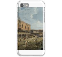 analetto - Venice - The Doges Palace and the Riva degli Schiavoni iPhone Case/Skin