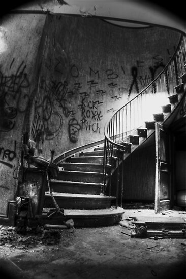 Spiraling Out Of Sight by MJD Photography  Portraits and Abandoned Ruins
